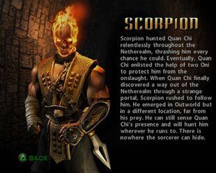 Scorpion sense