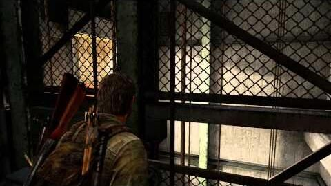 The Last of Us Remastered - Pittsburgh Hotel Joel Elevator Shaft Sequence (Scared Ellie) PS4