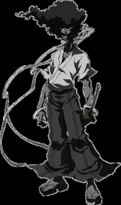 172-1723057 afro-samuria-photo-afrosam-afro-samurai-hd-png