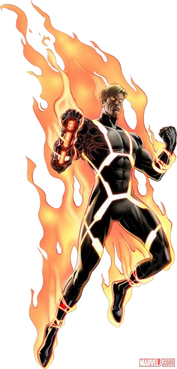 Negative Zone Human Torch MC TR