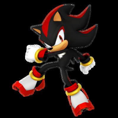 Sonic Games Shadow the Hedgehog (Render)