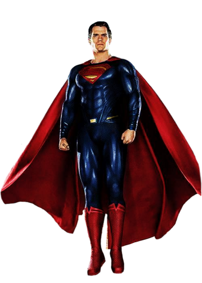 Superman Render DCEU