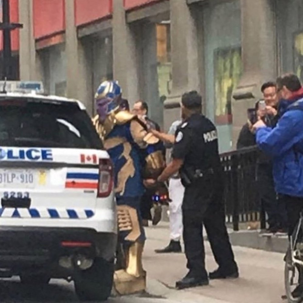 Avengers 4 thanos arrested
