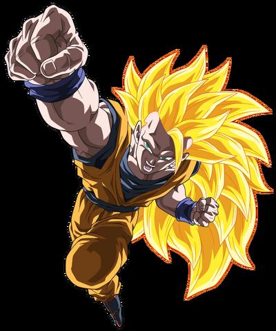 Goku ss3 version 1 by jumpcolors-dafgepa