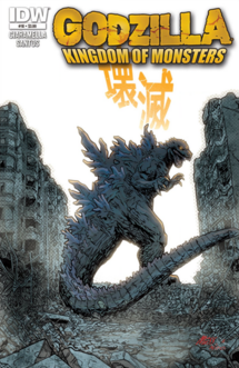KINGDOM OF MONSTERS Issue 10 CVR A