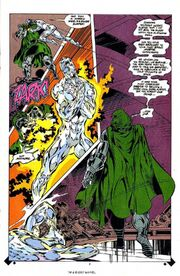 Silver Surfer and Doombot 4