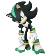Sonic Games Shadow Form Mephiles (Japanese)