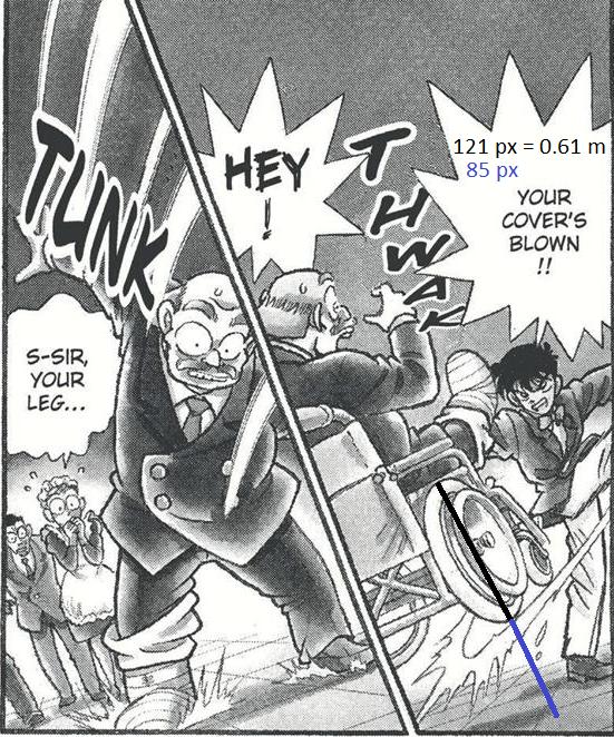 Kudo Kicks An Old Man