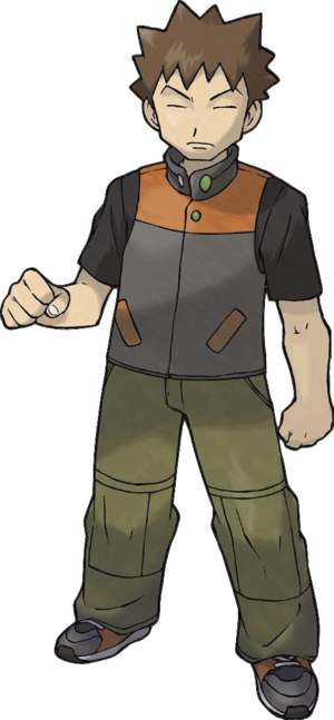 FireRed LeafGreen Brock