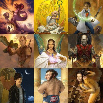 Gods riordan