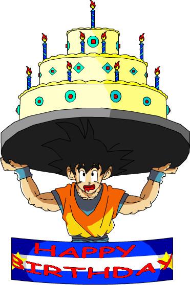 Goku Happy Birthday By Eggmanrules Jpg
