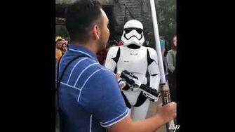 Guy Gets Roasted by Stormtrooper