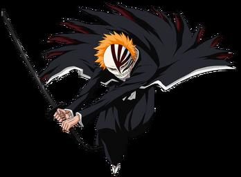 Ichigo kurasaki 1st -hollow mask bankai by theoneaboveall77-d603i2w