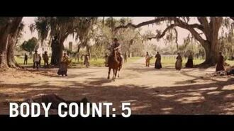 MOVIE BODY COUNTS- Django Unchained