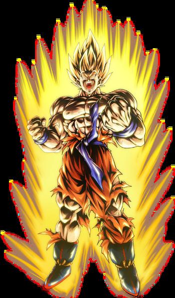 Goku ssj namek render 2 db legends by maxiuchiha22 dddrqhz