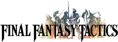 Final Fantasy Tactics Logo (Render)
