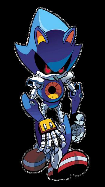 Metal Sonic Profile