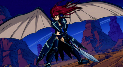 Erza - Black Wing Armor