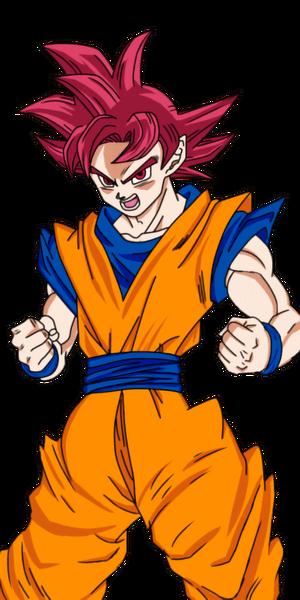Chou SSGod Goku