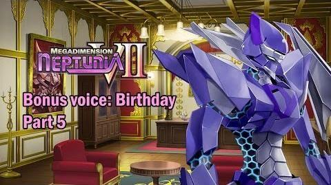 Eng sub Megadimension Neptunia VII - Bonus Voice Birthday, Part 5 (Visualized)