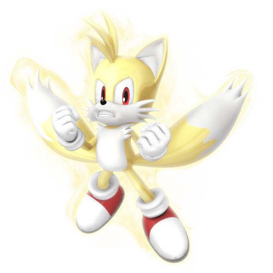 Sonic Games Classic Super Tails (Render)