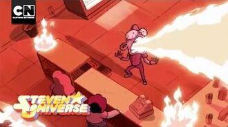 Steven Universe Fire Salt Donut Cartoon Network