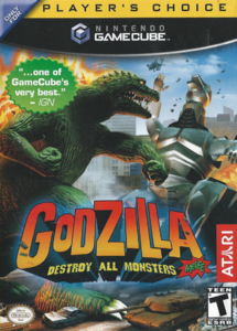 Godzilla Destroy All Monsters Melee Front Cover