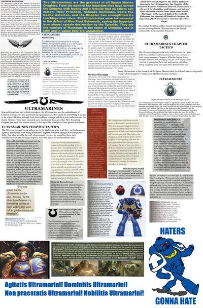 Warhammer 40,000: Discussione Generalis V | VS Battles Wiki
