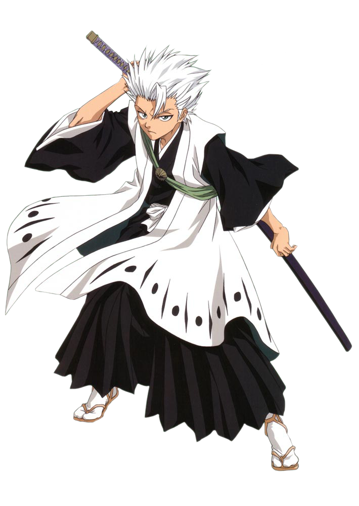 Adult Toshiro Post Timeskip Pre Rendered