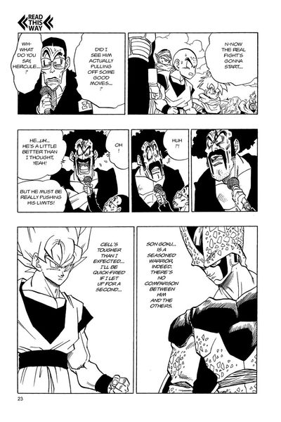 Chapter 397 Cell respects strong opponents (VIZ)