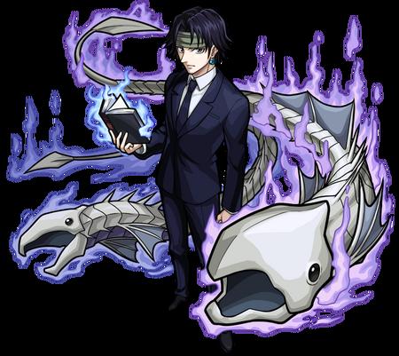 Hunter X Hunter Chrollo Incognito (Render)