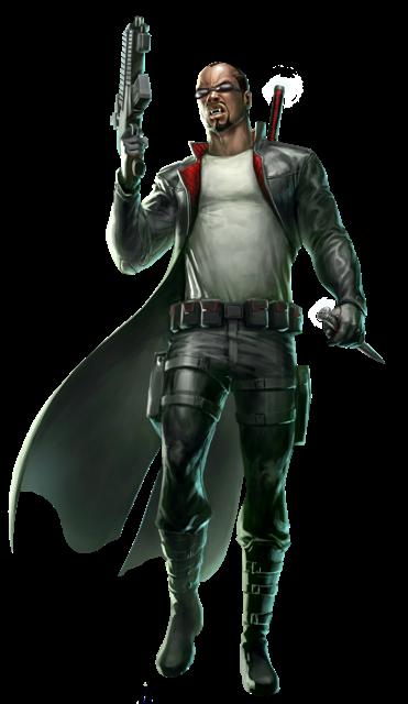 Blade Character Art