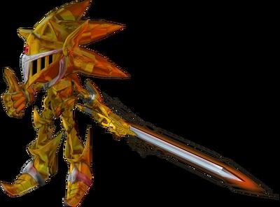 Sonic ExcaliburRender