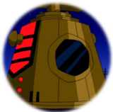 Chronosapien Time Bomb (Ben 10)-Original Sticker