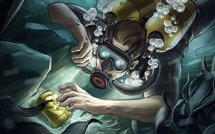 Depth PosterArt 05 Diver Finding Treasure02