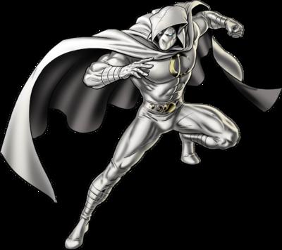 Moon Knight Right Portrait Art
