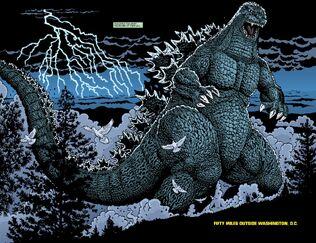 Ongoing Godzilla