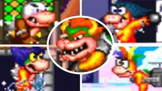 Hotel Mario - All Bosses Cutscenes HD