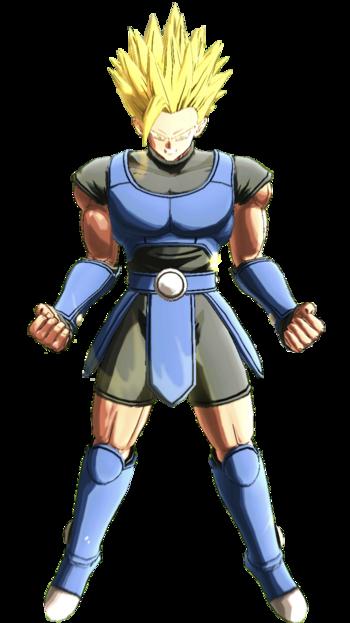 Super Saiyan2 Shallot Render