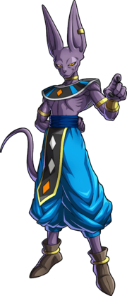 DBFighterZ - Beerus by PurpleHato
