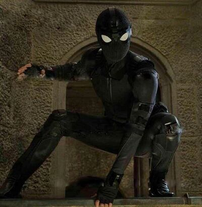 Spidey stealth suit