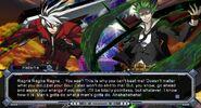 CS Hazama's Azure is stronger than Ragna's Azure