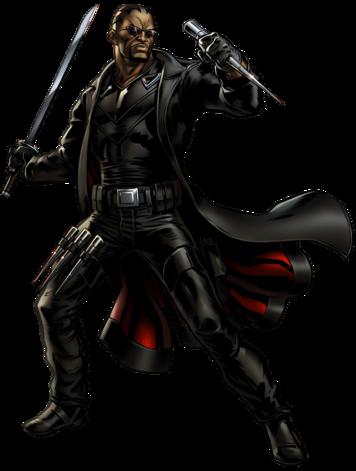 Marvel Comics Blade (Render)