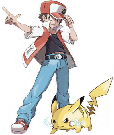 505px-Red and Pikachu Artwork