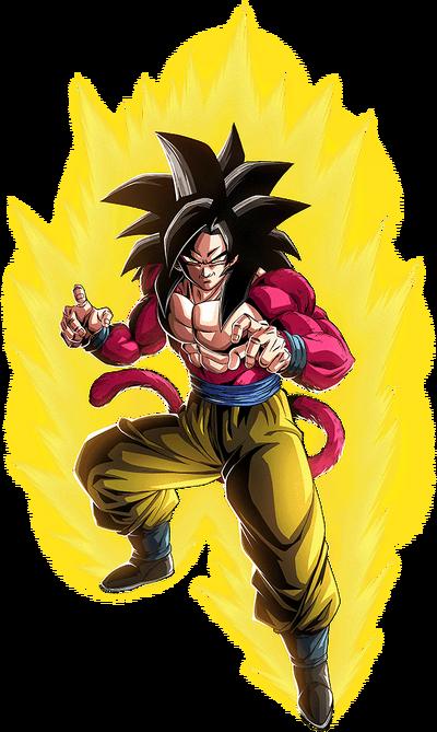 GT Goku SSJ4