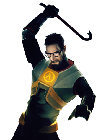 Gordon Freeman - Crowbar Action