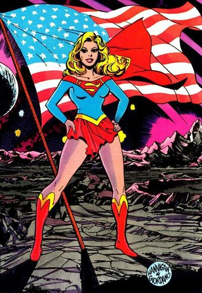 Supergirl Earth-One 002