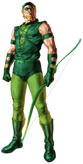 Green Arrow Post Crisis full body render