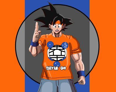 Goku x john cena fusion painting by allenthomasartist dd6v43b-fullview