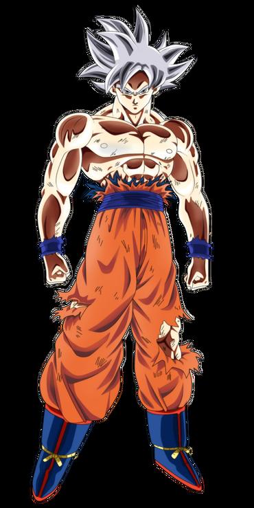 Goku mastered migatte no gokui by andrewdragonball dc4lroe